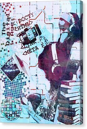 The Digital Age Canvas Print