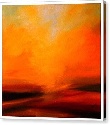The Divine Glow  Canvas Print by Mrunal Limaye