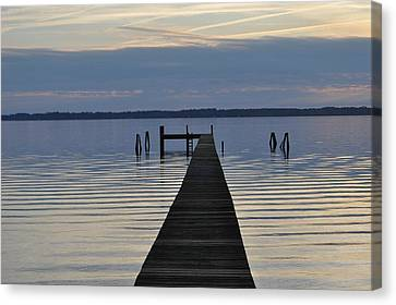 The Dock Canvas Print by Tiffney Heaning