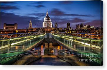 The Dome Canvas Print by Giuseppe Torre