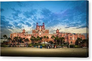 The Don Cesar Canvas Print by Marvin Spates