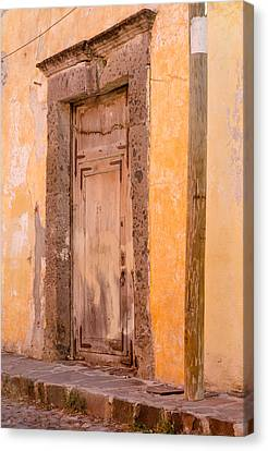 The Door At Number 29. Canvas Print by Rob Huntley