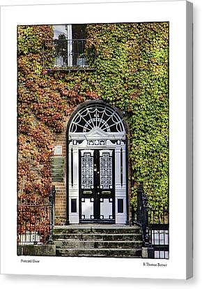 The Door Canvas Print by R Thomas Berner