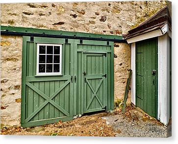 Canvas Print featuring the photograph The Door by Robert Culver