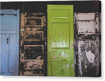 The Doors Canvas Print by Colleen Kammerer