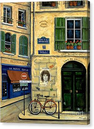 The Doors Canvas Print by Marilyn Dunlap