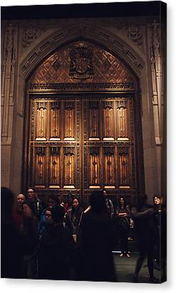 Patrick Canvas Print - The Doors Of St. Patrick's Cathedral by Jessica Jenney