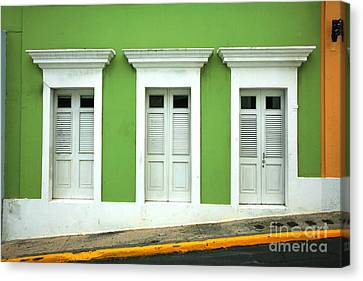 Puerto Rico Canvas Print - The Doors by Timothy Johnson