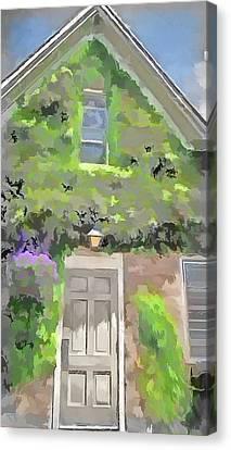 The Doorway Canvas Print by Leslie Montgomery