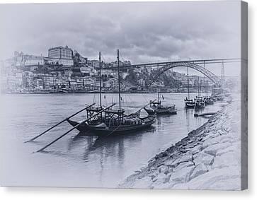 Rain Barrel Canvas Print - The Douro River by Livio Ferrari