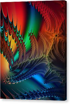 The Dragon's Den Canvas Print by Kathy Kelly