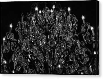The Drake Chandelier Canvas Print