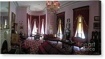 The Drawing Room- Dundurn Castle Canvas Print by Larry Simanzik