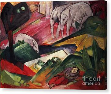 The Dream  Canvas Print by Franz Marc
