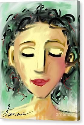The Dreamer Canvas Print by Elaine Lanoue
