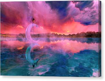 The Dreamery II Canvas Print by Betsy Knapp