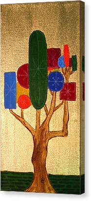 The Dreaming Tree Canvas Print by Stephanie Heller Durr