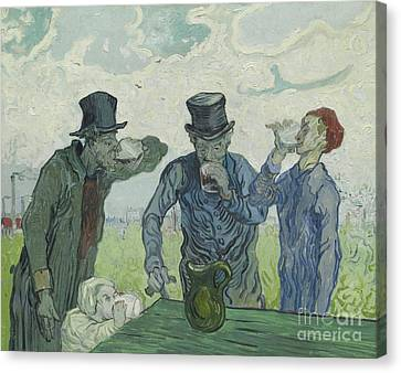 The Drinkers Canvas Print
