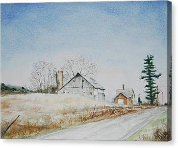 The Drockner Place Canvas Print by Mike Yazel