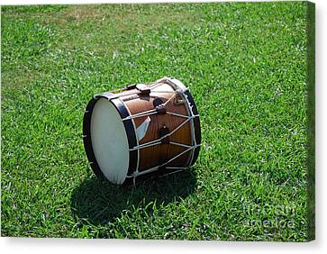 Canvas Print featuring the photograph The Drum by Eric Liller