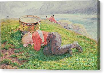 The Drummer Boy's Dream Canvas Print