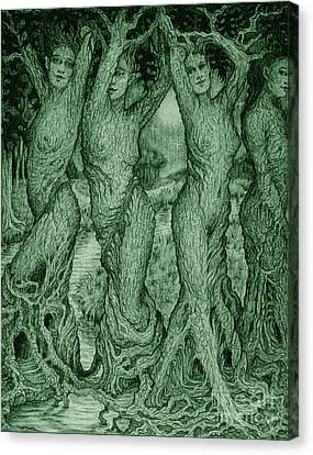 The Dryads Canvas Print