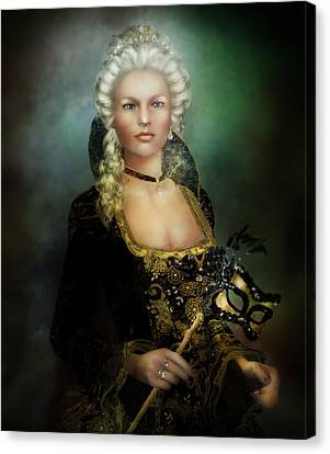 The Duchess Canvas Print by Mary Hood