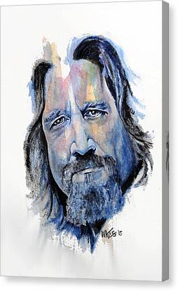 The Dude Abides Canvas Print by William Walts