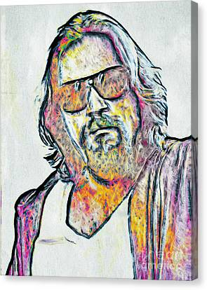 The Dude Canvas Print by GabeZ Art