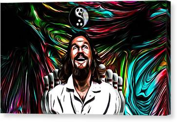 The Dude Canvas Print by Rob Hans