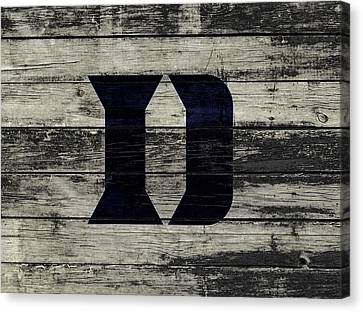 The Duke Blue Devils 3c  Canvas Print