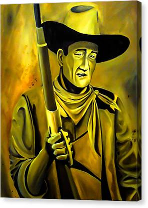 The Duke  Canvas Print by Chris  Leon