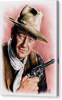 The Duke Colour Edit Canvas Print by Andrew Read