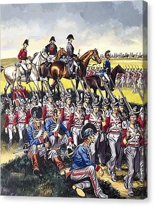 The Duke Of Wellington Canvas Print by Ron Embleton