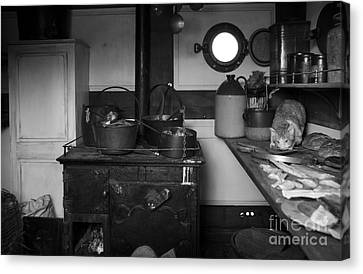The Dunbrody Crew's Kitchen Canvas Print