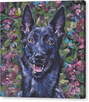 The Dutch Shepherd Canvas Print