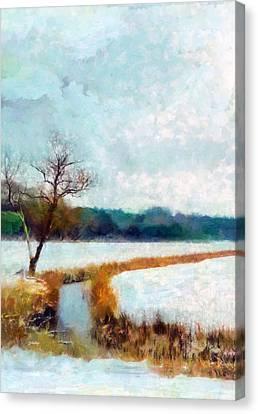The Dyke Canvas Print