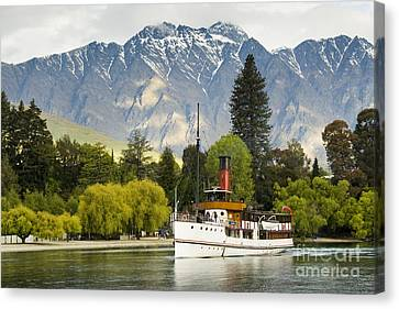 The Earnslaw Canvas Print by Werner Padarin