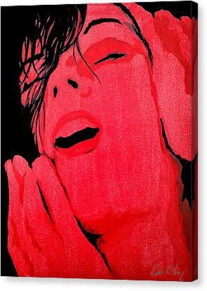 The Ecstasy Canvas Print