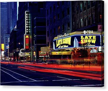 The Ed Sullivan Theatre - N Y C Canvas Print