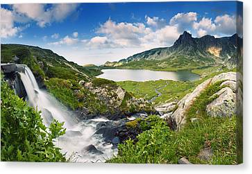 The Eden Canvas Print by Evgeni Dinev