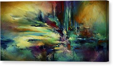 'the Edge' Canvas Print by Michael Lang