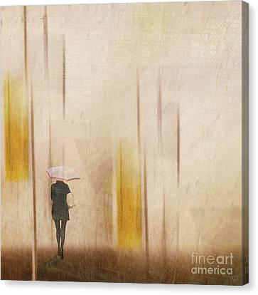 Canvas Print featuring the photograph The Edge Of Autumn by LemonArt Photography