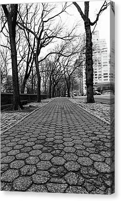 Canvas Print featuring the photograph The Edge Of The Upper East Side by Lora Lee Chapman