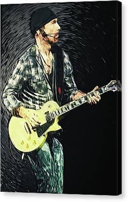 The Edge Canvas Print by Taylan Apukovska