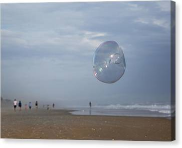 The Egg Bubble Canvas Print