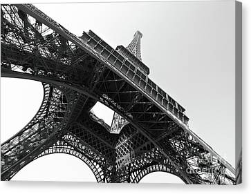The Eiffel Tower Canvas Print by Roman Sigaev