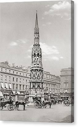 The Eleanor Cross, Charing Cross Canvas Print