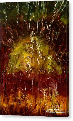 The Elements Earth #4 Canvas Print