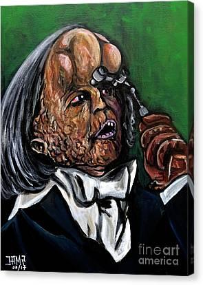 The Elephant Man Canvas Print by Jose Mendez